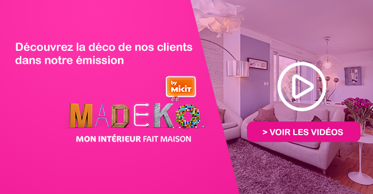 Madeko emission déco Mikit salon